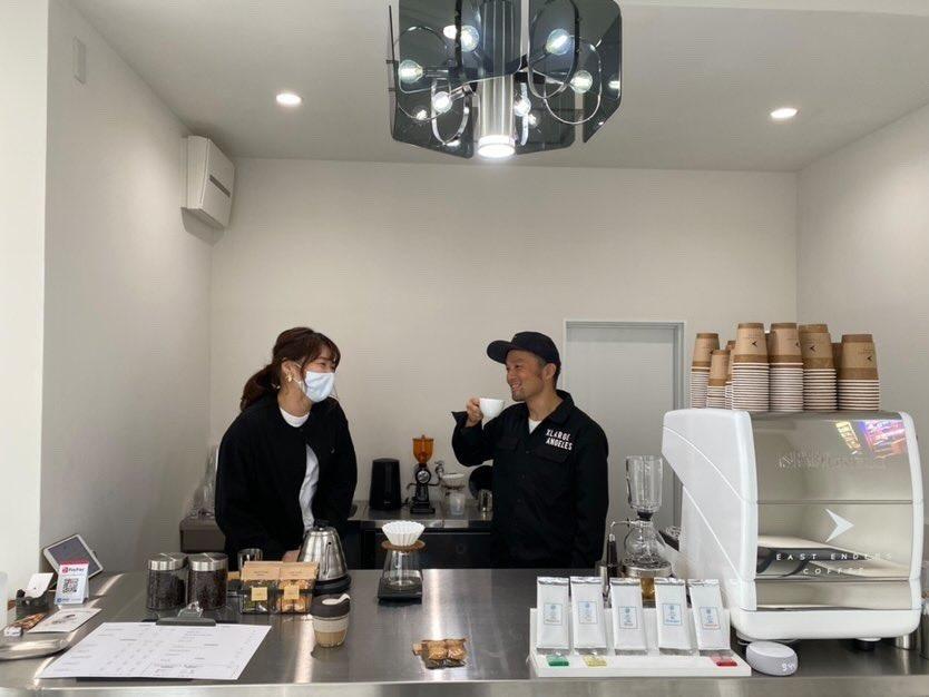 ガソリンスタンドでコーヒースタンドを作りたい